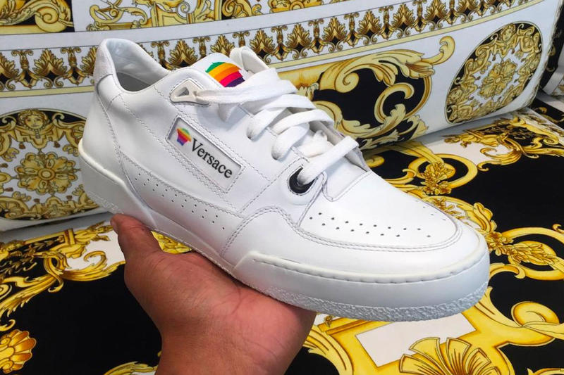 Versace Apple Computers Sneaker Reimagine Take Salehe Bembury