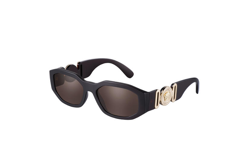 8b4a80c212a Versace Biggie Frame black gold medusa notorious big biggie smalls  accessories