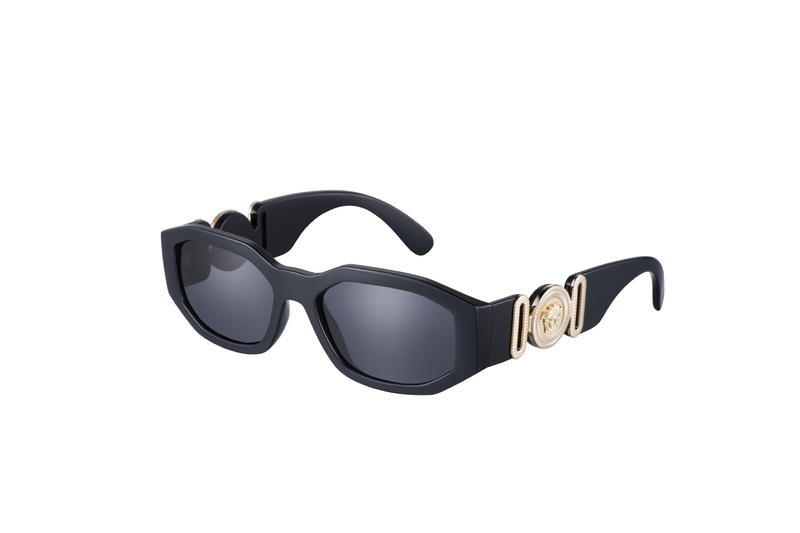 Versace Biggie Frame black gold medusa notorious big biggie smalls accessories