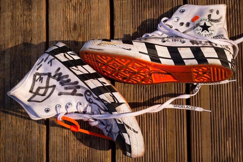 "6bf3b58502ac Virgil Abloh Previews New Off-White™ x Converse ""Chuck Taylor"" Skate ..."