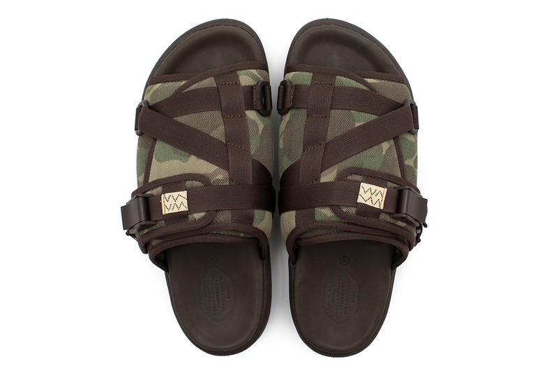 visvim Contrary Dept CHRISTO Camo Colorway Sandals Footwear Sneakers Kicks Trainers Shoes Cop Purchase Buy Available LA Los Angeles Exposition Store