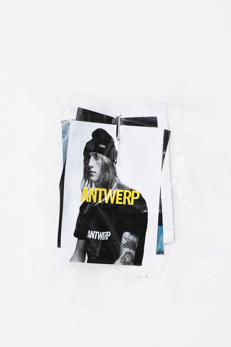 Willy Vanderperre VIER Capsule Collection collaboration drop release date info dover street market november 1 october 31 2018 pins tee shirts hoodies