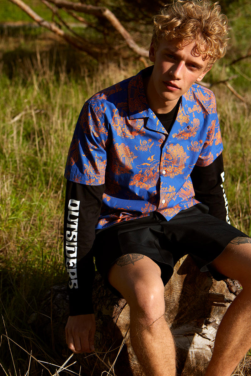 Wood Wood Spring/Summer 2019 'The Outside' Lookbook Lookbooks Collections Clothing Fashion Cop Purchase Buy