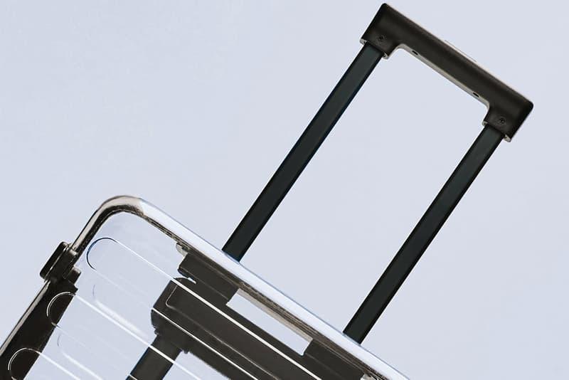 Xiaomi 90 Points Off-White RIMOWA Replica Transparent Suitcase Luggage China Fake Copy seven bar transparent case