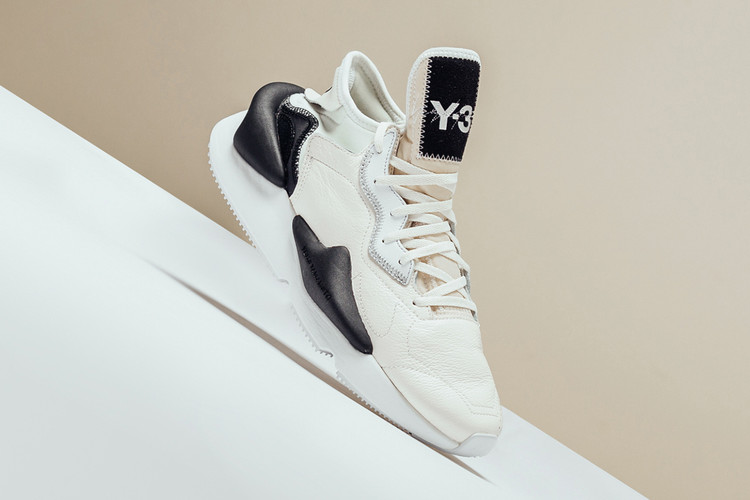 "682fa35fdabb9d Y-3 s Kaiwa Surfaces in a Simple ""Core White Black"" Color Scheme"