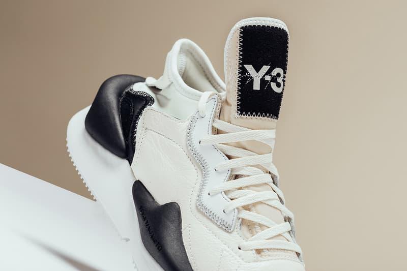 Y-3 Kaiwa Core White Black release info leather suede sneakers yohji yamamoto