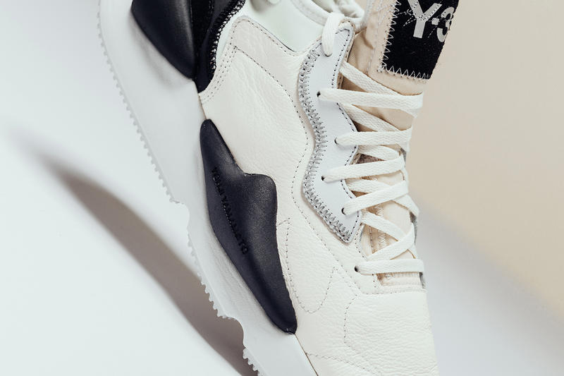 Y-3 Kaiwa Core White Black release info leather suede sneakers yohji yamamoto