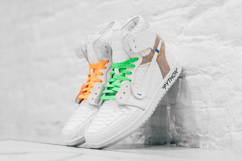"Zen Rarest Sneakers Giveaway Chanel Pharrell adidas Tiffany Dunk Lows  Shoe Surgeon x Air Jordan 1 ""Off-White"" sneakers nike sb skateboarding blue black red white virgil abloh"