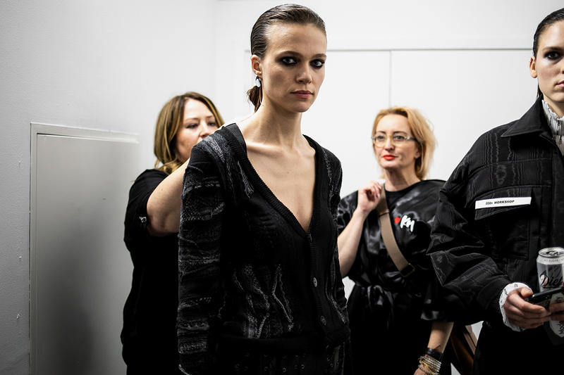 032c Cosmic Workshop Second Menswear Collection Backstage First Closer Look London Joerg Maria Koch First Womenswear Backstage