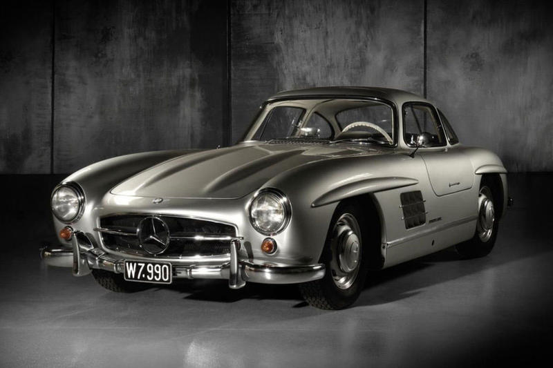 1955 Mercedes-Benz 300SL Gullwing Up for Auction car vintage rare collectors automotive dorotheum
