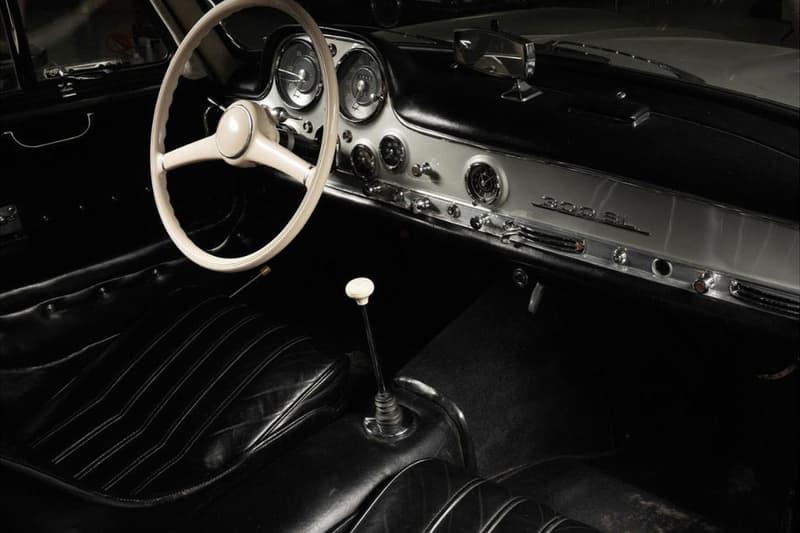 1955 Mercedes-Benz 300SL Gullwing Up for Auction car vintage rare collectors automotive dorotheum