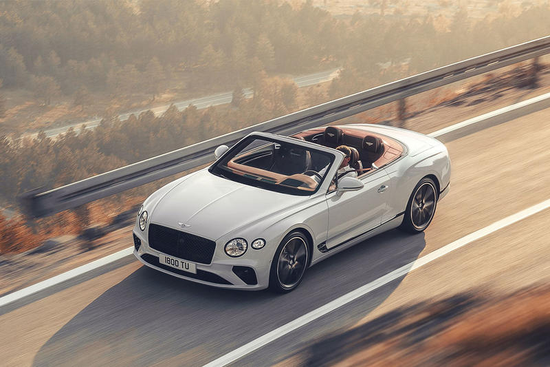 Bentley Continental GT 2019 Convertible  first look L.A. Auto Show luxury drop top car pricing availability