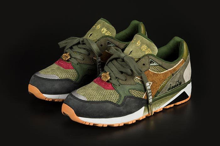 24 Kilates x mita x Mighty Crown x Diadora N9002 Sneaker release date mita collaboration colorway