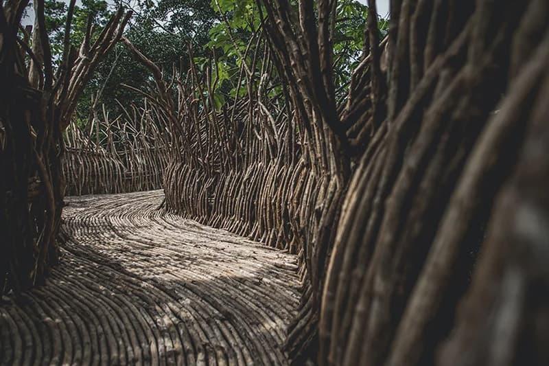 azulik uh may arts complex mexican jungle yucatan peninsula architecture