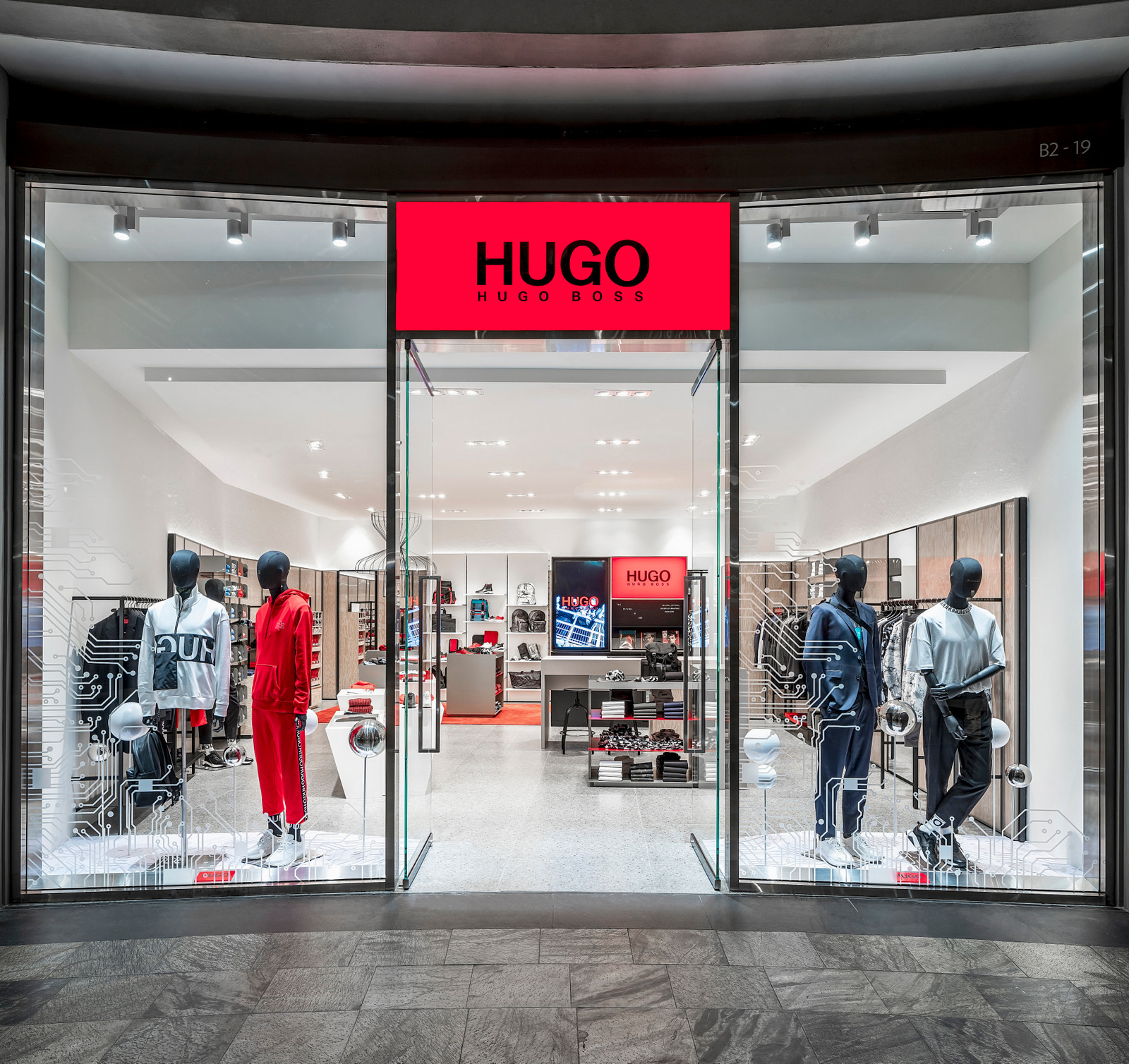 d7c7d6e15 HUGO Expands in Singapore With Second Flagship Store in Marina Bay Sands