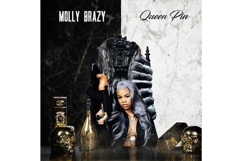 Molly Brazy New Album Queen Pin stream Detroit