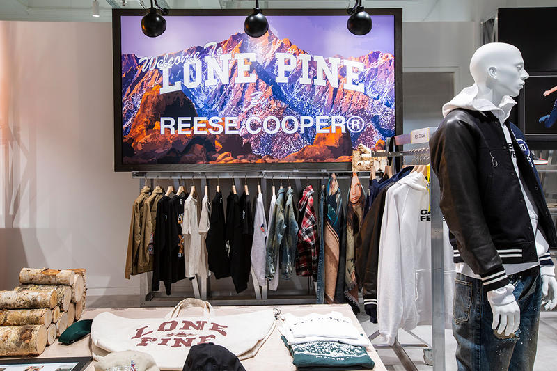 Reese Cooper debut collection release drop info buy lone pine fall winter 2018 first selfridges designer street room