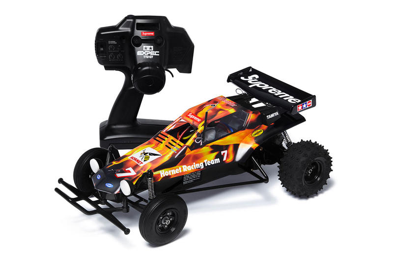 Supreme tamiya hornet rc radio controlled car toy release date drop accessory info november 15 2018 new york video oliver payne