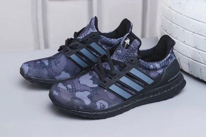 A Closer Look at the BAPE x adidas UltraBOOST
