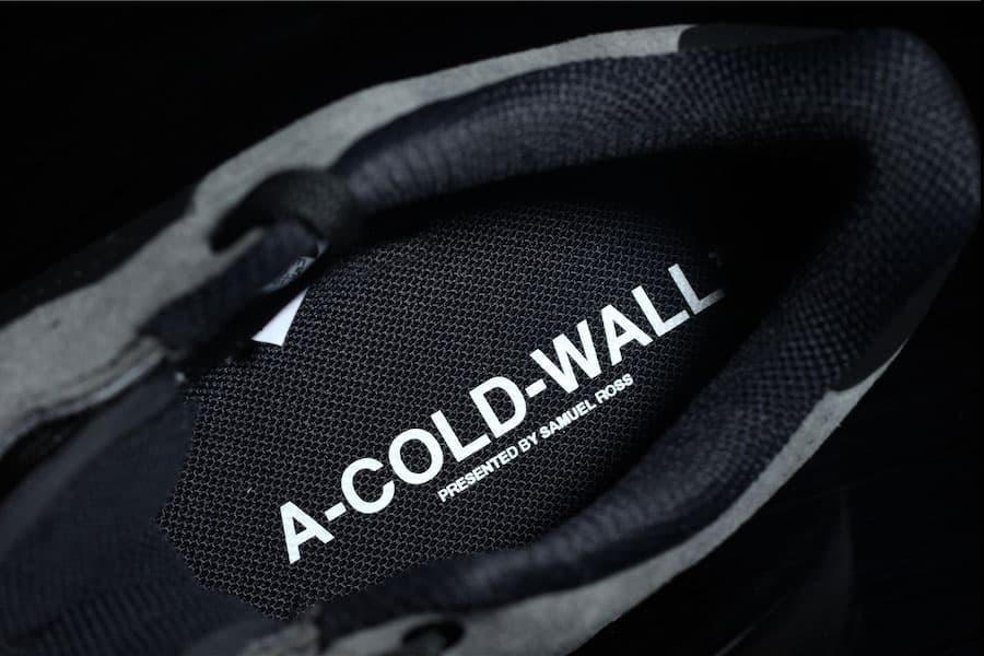 A COLD WALL Nike Air Force 1 Low Black Colorway Cinza De Couro Camurça Samuel Ross Branco Dezembro 2018 Dark Light Outro Visual