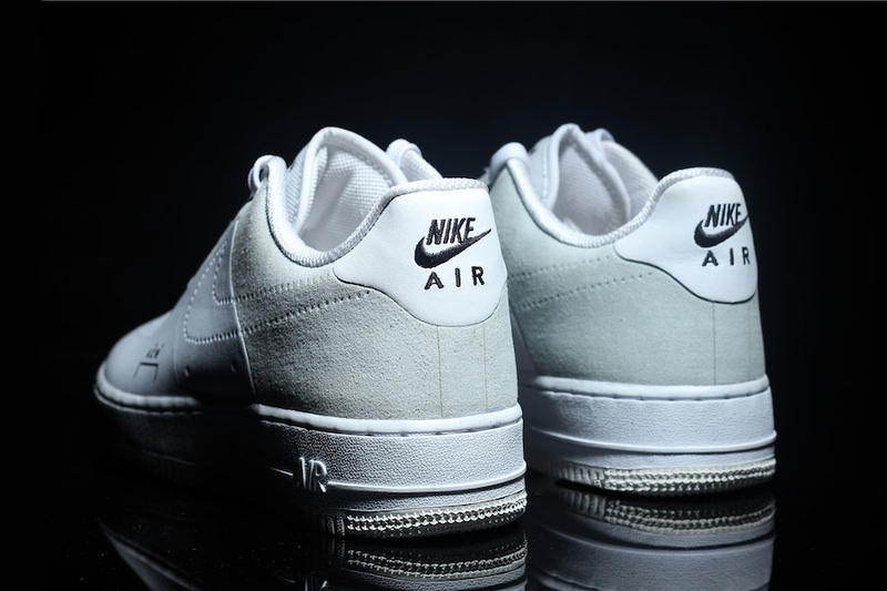 A COLD WALL Nike Air Force 1 Low Black Colorway Cinza De Couro Camurça Samuel Ross Branco Dezembro 2018 Dark Light Outro Visual