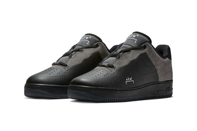 quality design 6dd37 2b23f A-COLD-WALL x Nike Air Force 1 Low official Imagery release date