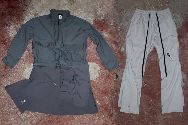 1441a992 a cold wall nike samuel ross jacket coat convertible transformable pants  drawstring november 17 2018 installation