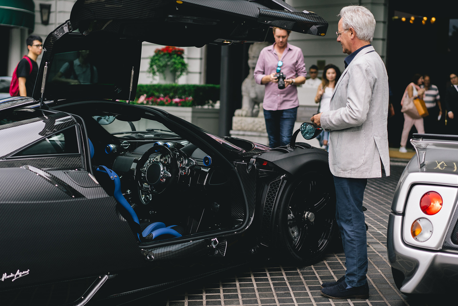A Conversation with Horacio Pagani Zonda Huayra Hypercar Sportscar Supercar Super car racing Titanium Carbon Fiber Sports Expensive Luxury Hong Kong exhaust music fancy Music Tech Electric Motor Horsepower