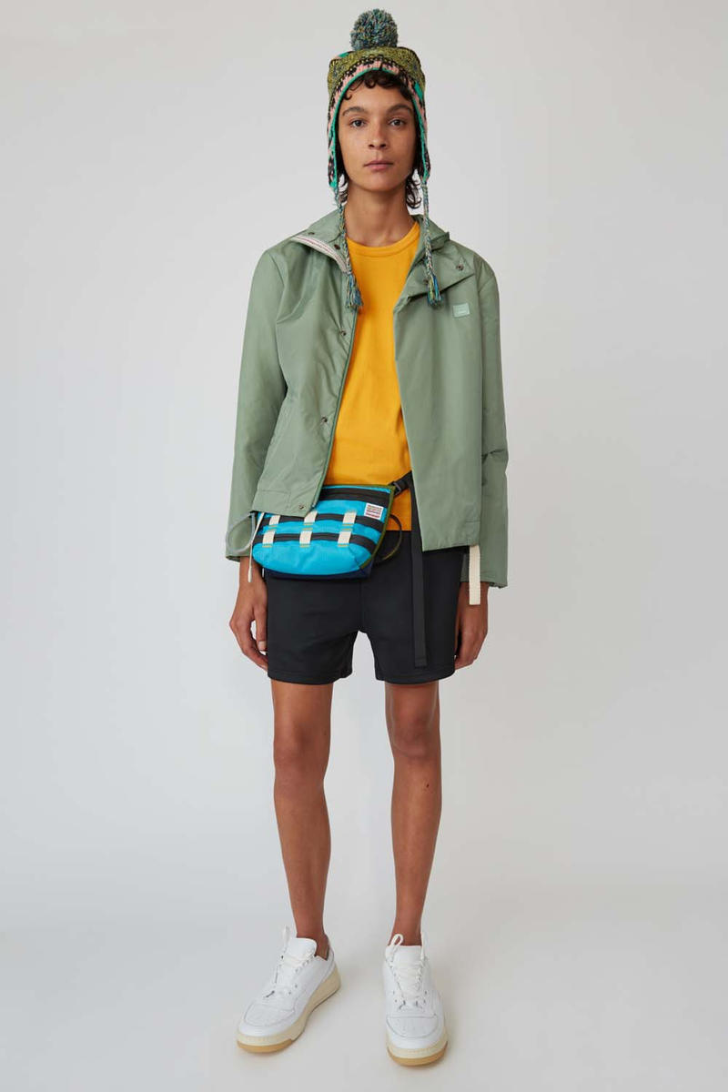 Acne Studios Third Collection Face Motif FW18 fall winter 2018 shorts pants sweaters hoodies outerwear jackets coats info release details purchase buy where