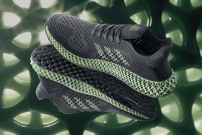 "adidas FUTURECRAFT 4D ""Onyx"" Release Date Official Look Details Cop Purchase Buy Sneakers Trainers Kicks Shoes 21 November 2018 Release Date grey"