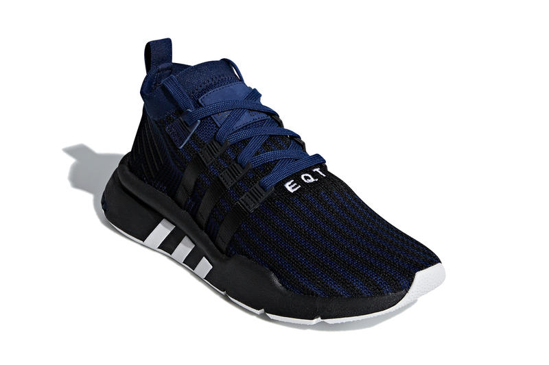 adidas EQT Support Mid ADV Black Navy sneaker