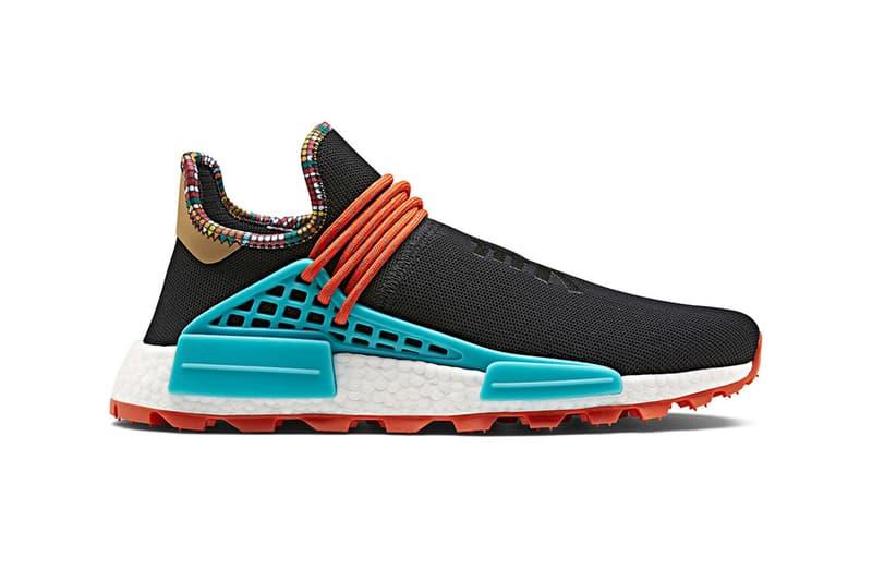 "Pharrell x adidas NMD Hu ""Inspiration Pack"" StockX white black powder blue Clear sky running williams originals"