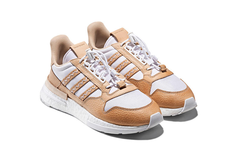 adidas Originals hender scheme collaboration collection fall winter 2018HS ZX500 RM boost FL 3 panel cap shoe case tote bag november 24 218 release date info drop collection leather japan