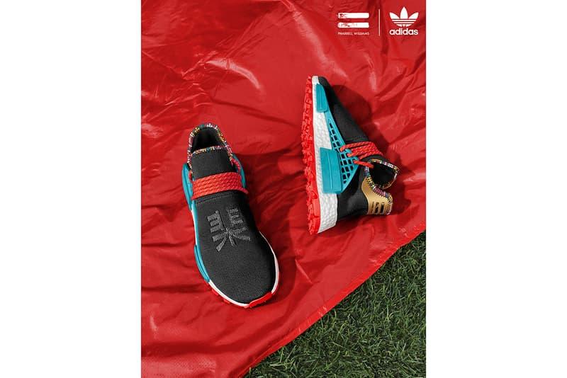 892e15659 adidas Originals x Pharrell Williams SOLARHU Fall Winter 2018 Capsule Hu  NMD Collection Campaign Lookbook