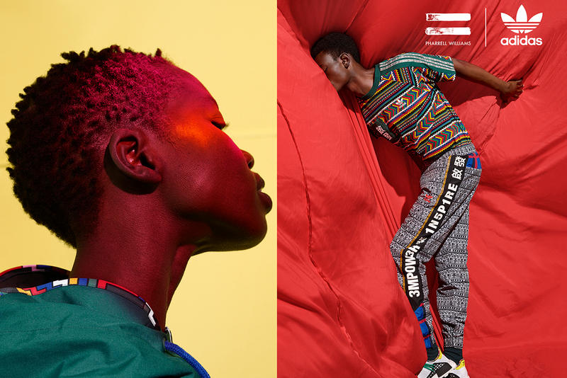 adidas Originals x Pharrell Williams SOLARHU Fall/Winter 2018 Capsule Hu NMD Collection Campaign Lookbook Sneakers Shoes Trainers Kicks Footwear Collaboration Collab