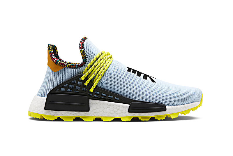 Pharrell Williams x adidas Originals SOLARHU NMD FW18 Fall/Winter 2018 Closer Look Shoes Trainers Kicks Sneakers Footwear Release Details Dates