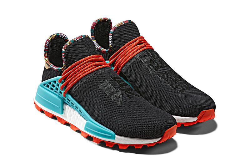pretty nice f3ca3 d078a Pharrell Williams x adidas Originals Hu NMD Closer Look ...