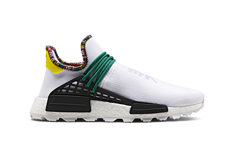 Endurecer Mejor gene  Pharrell Williams x adidas Originals Hu NMD Closer Look | HYPEBEAST