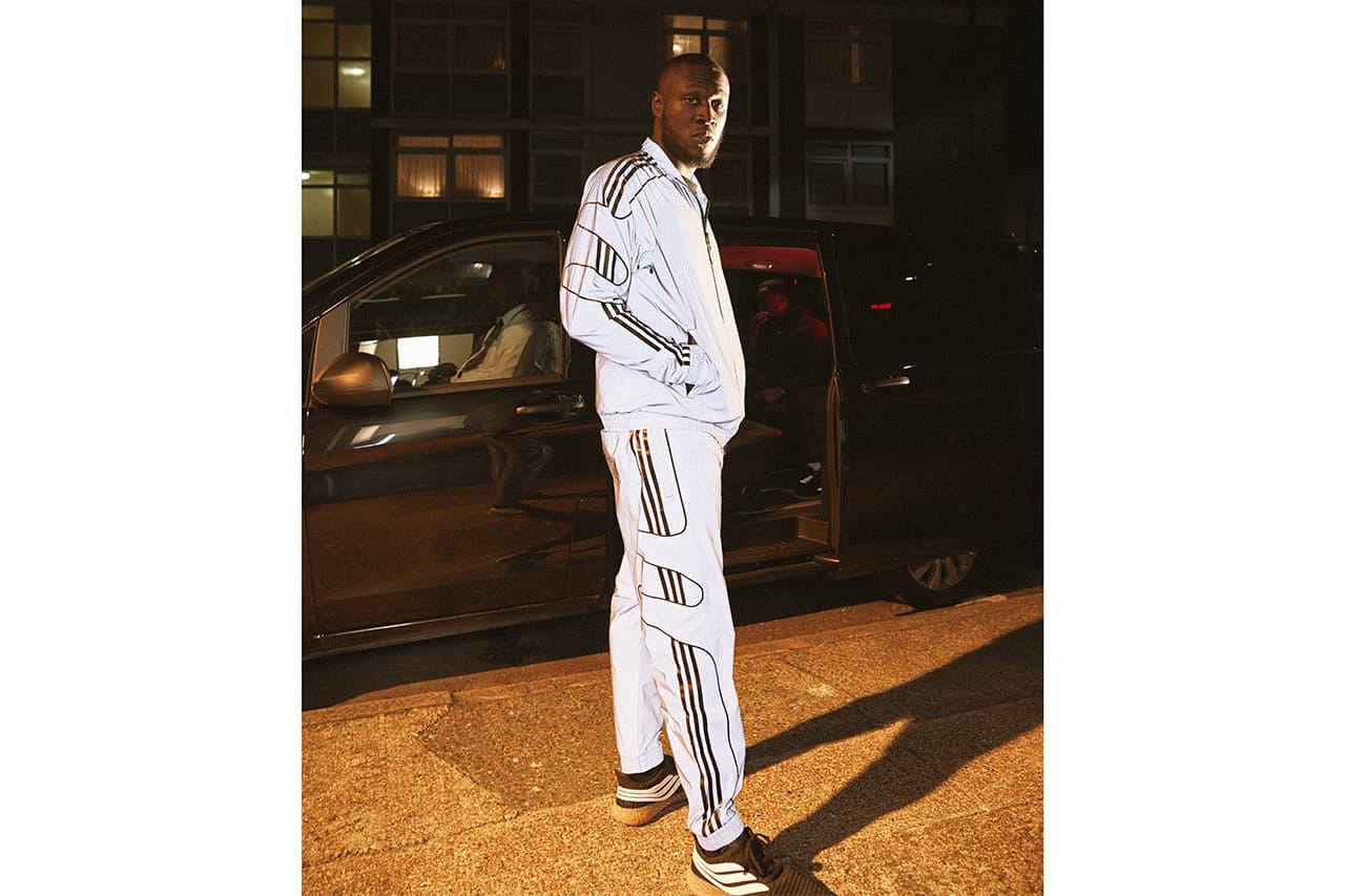 adidas Originals x Stormzy 2018 Detalhes do pin colaborativo Coleção Closer Primeiro visual
