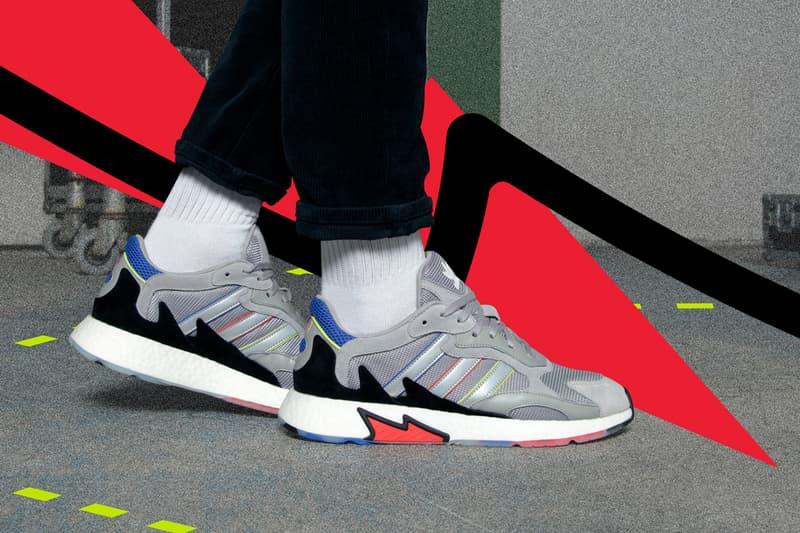 adidas Originals TRESC RUN black grey 90s archive boost foot locker first look release details