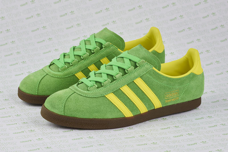 adidas Originals Trimm Master OG Lime/Yellow size? Official Exclusive Shoes Cop Purchase Buy Footwear Trainers Kicks Sneakers Available Online In-store 16 November 2018 Release Date Details Collab Collabs Collaborations Collaborative Design