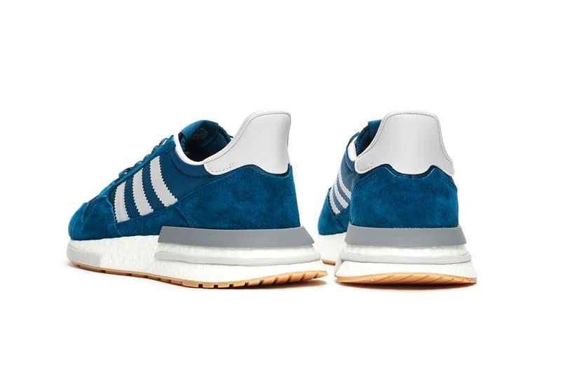 2fda9f494a0ae Sneakersnstuff x adidas Originals ZX500 RM Release date november 2018 blue  white gum