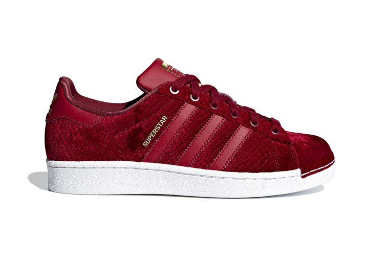 adidas Originals Upgrades the Superstar With Satin   Snakeskin Touches 9f1bfc1dd