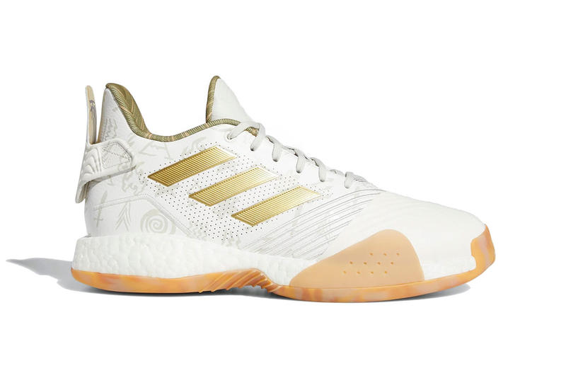 954518a70bb533 adidas t mac millennium release date 2018 december footwear cloud white gold  metallic cloud white