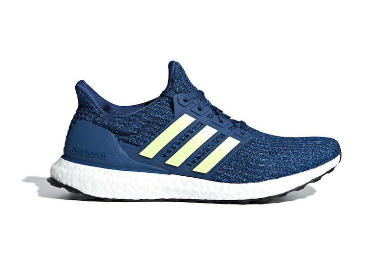"adidas UltraBOOST 4.0 ""Legend Marine"" Release Info date price Legend Marine/Hi-Res Yellow-Cloud White Style Code: F35234"
