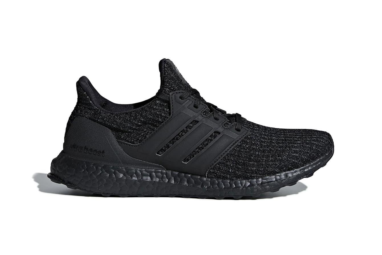"adidas UltraBOOST 4.0 ""Triple Black"" Arrives This December"
