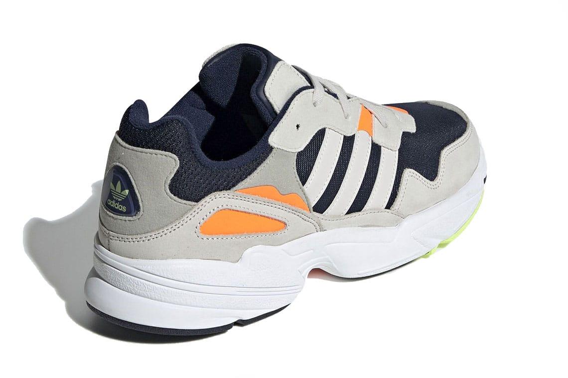 adidas Yung 96 Navy, Grey, Orange