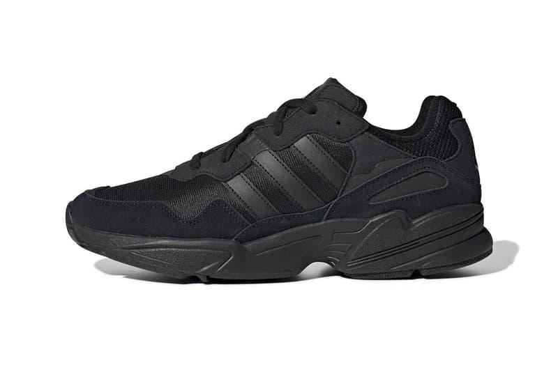adidas yung 96 triple black sneaker