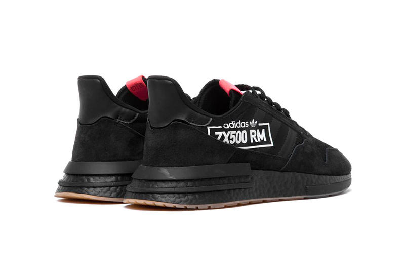 "adidas ZX 500 ""Big Logo"" Release Date black pink november 2018"
