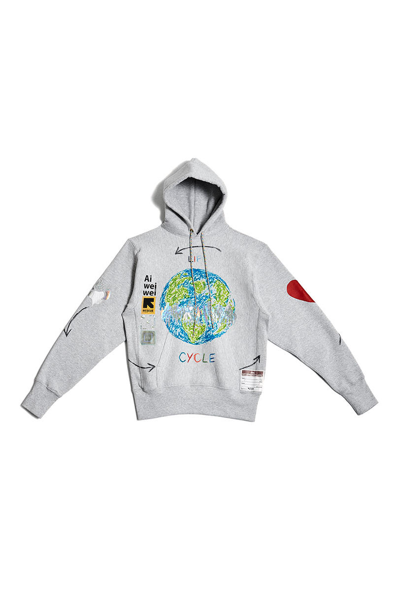 Advisory Board Crystals Joins Ai Weiwei for Limited Edition Handmade Hoodies